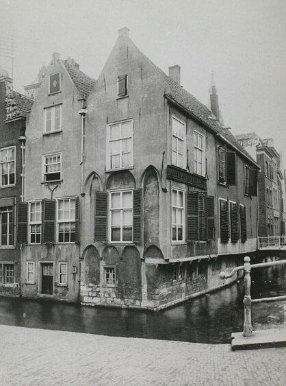 Huizen in Delft in de 16de en 17de eeuw-1161