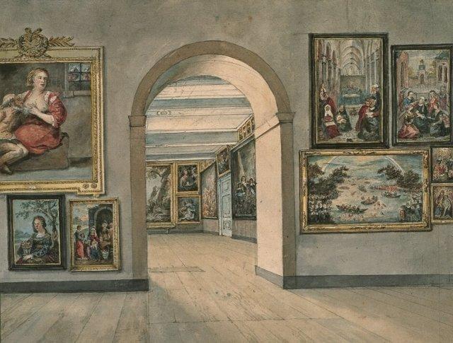 Kabinetten, galerijen en musea-1252