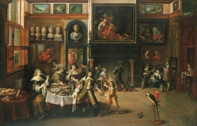 Kabinetten, galerijen en musea-1255