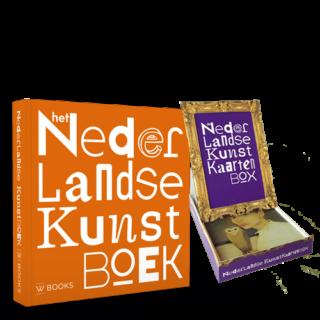 Het Nederlandse Kunst Boek met Kaartenbox