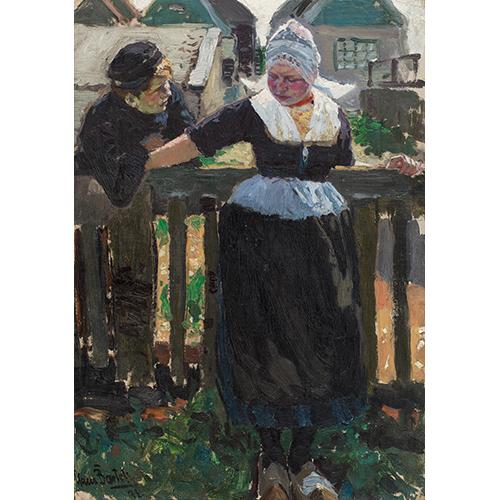 Hans von Bartels (1856-1913) | Schilder tussen het vissersvolk