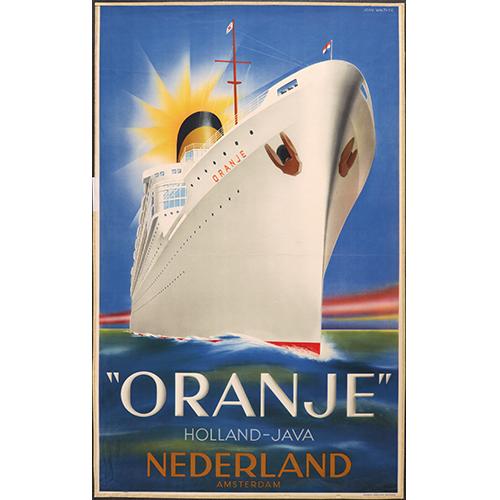 MS Oranje | Koers gewijzigd