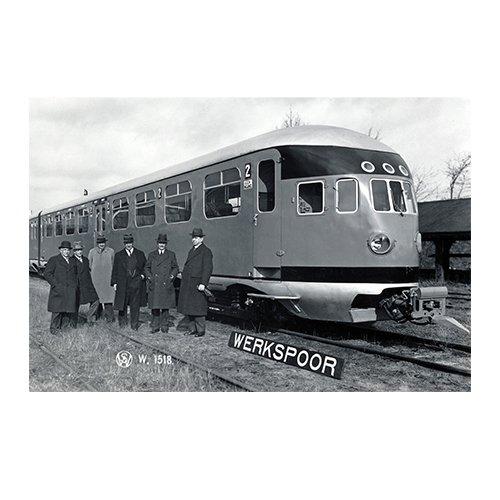 Stroomlijn op het spoor | Het eerste gestroomlijnde materieel van de Nederlandse Spoorwegen